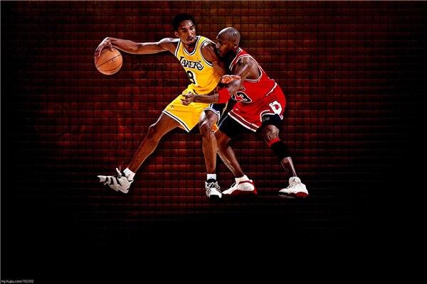 Decorative Kobe Bryant Poster Michael Jordan Sticker Custom Canvas