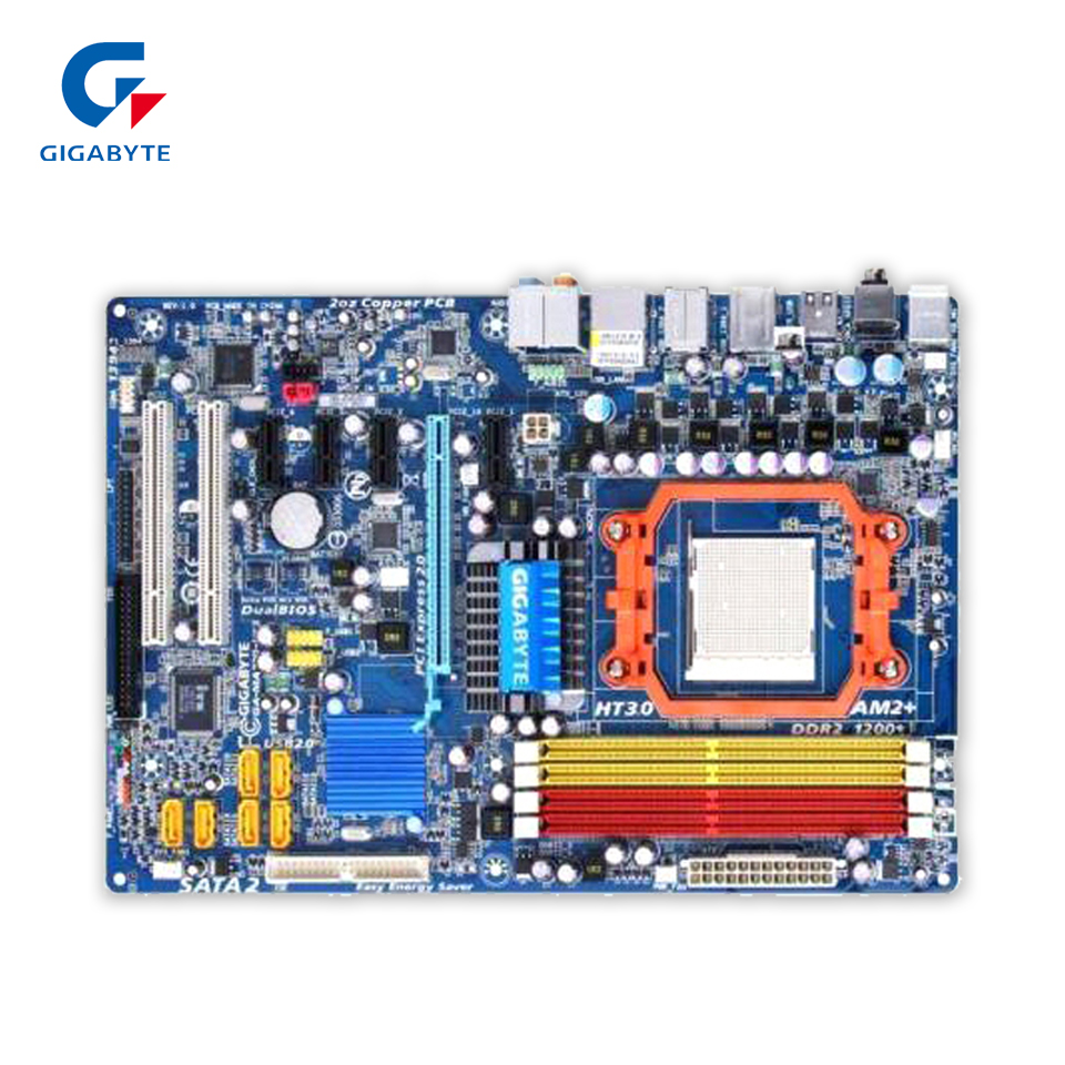 все цены на  Gigabyte GA-MA770-US3 Original Used Desktop Motherboard MA770-US3 770 Socket AM2 DDR2 SATA2 USB2.0 ATX  онлайн