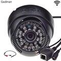 Gadinan ONVIF Wi-Fi 802.11b/g/n Сети H.264 P2P ВИДЕОНАБЛЮДЕНИЯ Крытый Беспроводная Ip-камера С Внешних Аудио Пикап 720 P/960 P