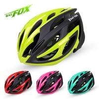 BATFOX MTB Road Cycling Helmet New Unisex Bicycle Bike Safety Helmet Ultralight Integrally Molded Cycling Helmet