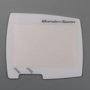 Image 4 - 12PCS Palmare giocatore del gioco Dello Schermo di Plastica di Ricambio Per WS WSC Coperchio di Protezione Per Wonder Cigno di Cristallo Dello Schermo di Lens Protector