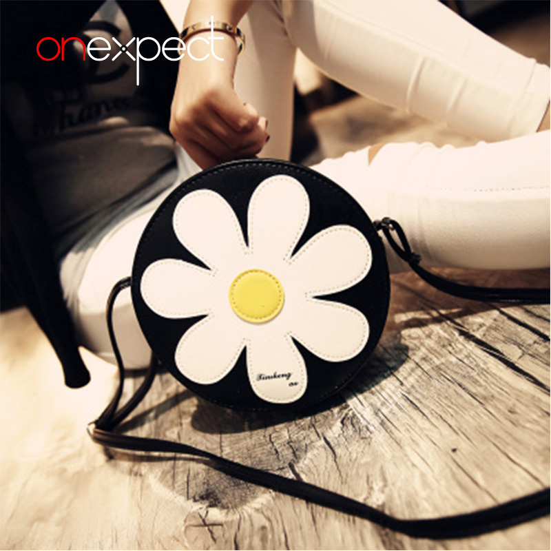 onexpect Flower Women's Handbag Cross Body Crossbody Bags Women Leather Handbags Shoulder Small Bag Women Messenger Bag