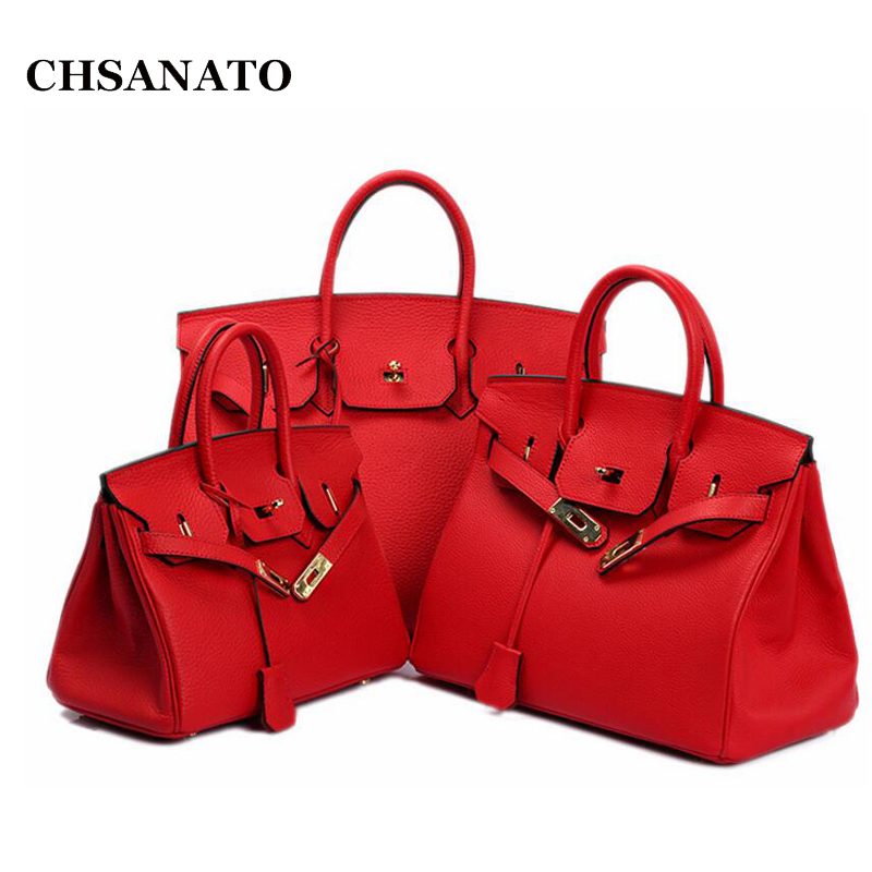 CHSANATO Wholesale European and American Classic Brand Designer Handbag High Quality Real Leather Women Tote 2017 famous designer brand upscale high quality cotton men jeans trouser european and american casual style pant for male jeans