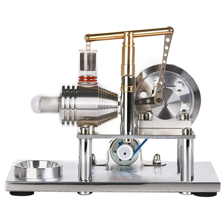 Alloy Air Stirling Engine Motor Model Electricity Generator Educational Kids Toy