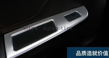 Stalen Deur Armsteun Window Switch Cover 4 stks Voor Subaru XV Crosstrek 2012-2017