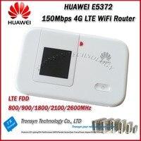 D'origine Unlock LTE FDD 150 Mbps HUAWEI E5372 4G LTE Mobile WiFi Hotspot Avec Sim Card Slot Soutien B1 B3 B7 B8 B20