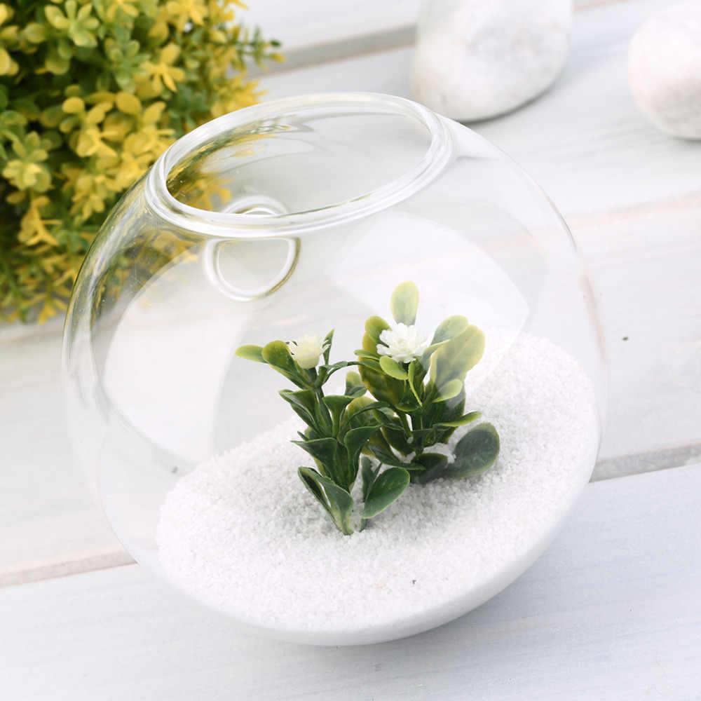 Chất Lượng cao 1 Cao Thủy Tinh Borosilicate Treo Kính Hoa Dụng Cụ Bào Bình Terrarium Hộp Đựng Khu Vườn Nhà Bóng Trang Trí