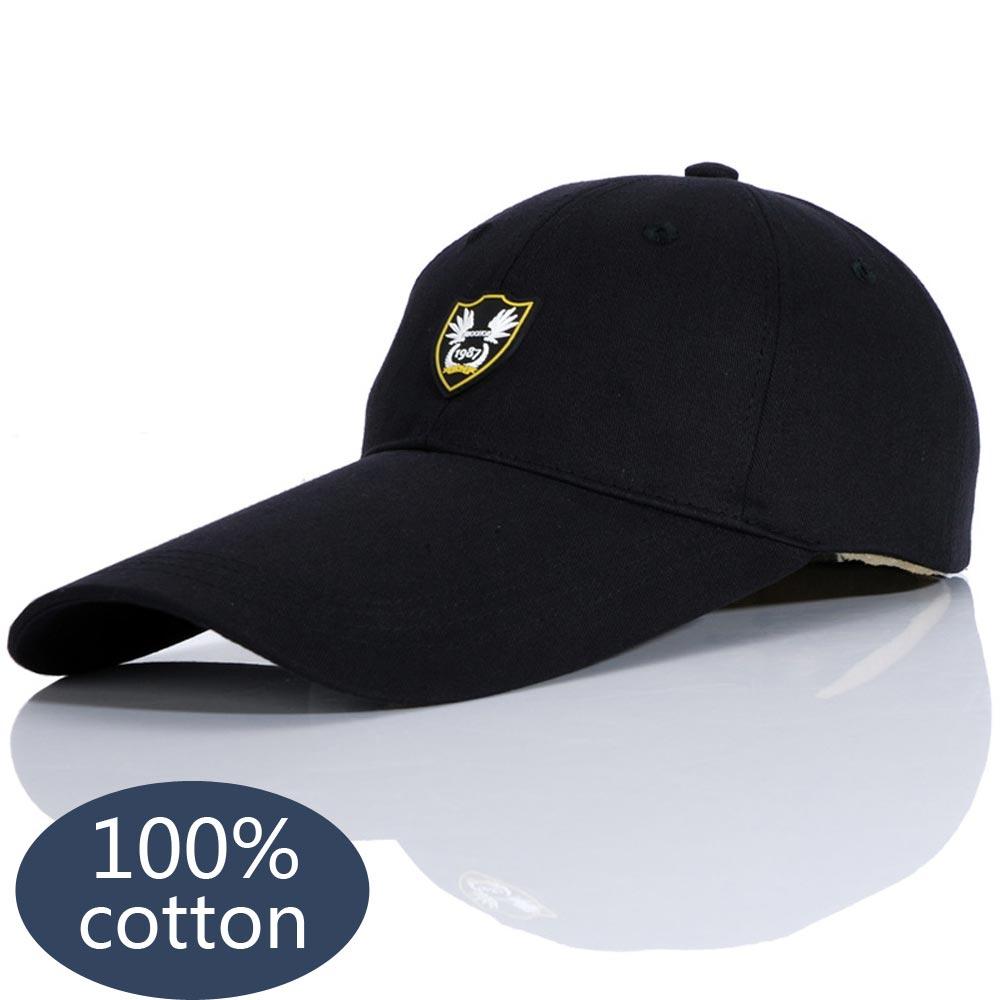 Baseball Cap Visor Cap For Women Men 2018 Snapback Hat Adjustable Hat Dad Hats Fashion Solid Color Long Brimmed Hats DSQICOND2