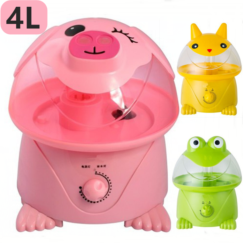 Humidifier household pig mute large capacity office desktop bedroom powder pig air purification mini aromatherapy machine air humidifier home high capacity mute bedroom air conditioning office purification humidification aromatherapy machine
