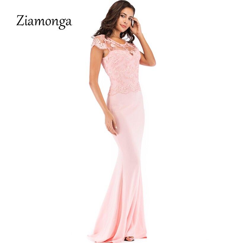 Vestido Mujer Fiesta Elegante Vestidos Black pink Ziamonga Verano Noche  Sirena 2019 Sexy Piso Encaje Maxi Longitud De blue Para nwqnHAYR 8951d973b9ee