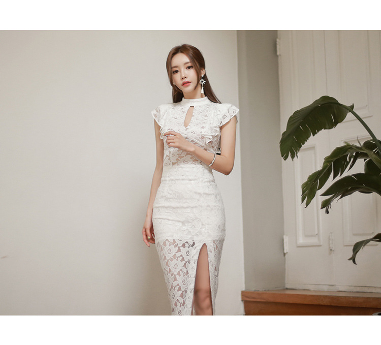 642daf0d92f59 2 piece set women s Sexy Skirts and tops 2019 Summer Lace Hollow ...