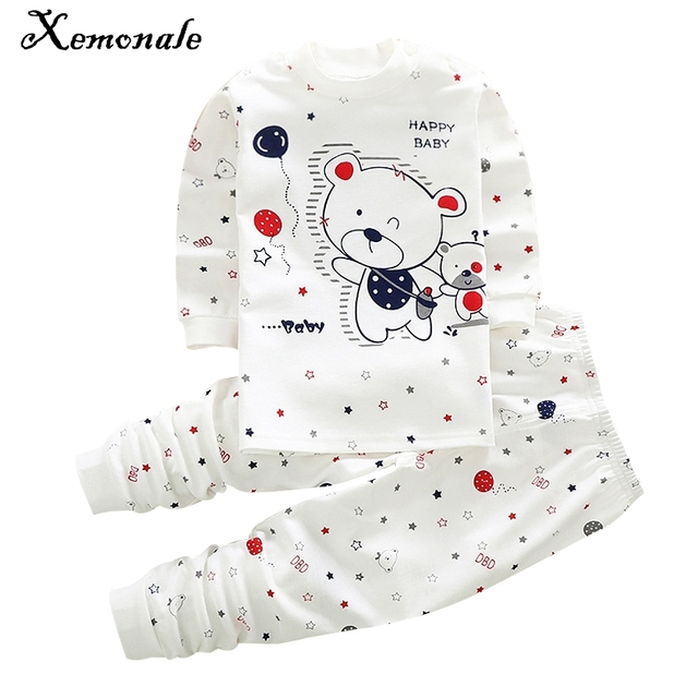Xemonale Hot Sell Baby Boy Clothes Baby Kids Pajamas Sets Children Cotton Baby Girl Clothing Sets Baby Boy Sets Ropa Bebes Suit