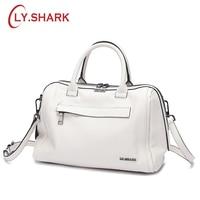 LY.SHARK Genuine Leather Women Bag Shoulder Bag Ladies Crossbody Bag Women Handbag Messenger Bag For Women 2018 Handbags Female