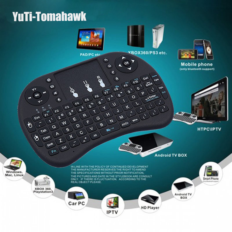 f0480d45ac1 Smart Backlight Computer Box Laptop Mini TV Fly Android PSP 2.4G PC Keyboard  Portable Mouse Air