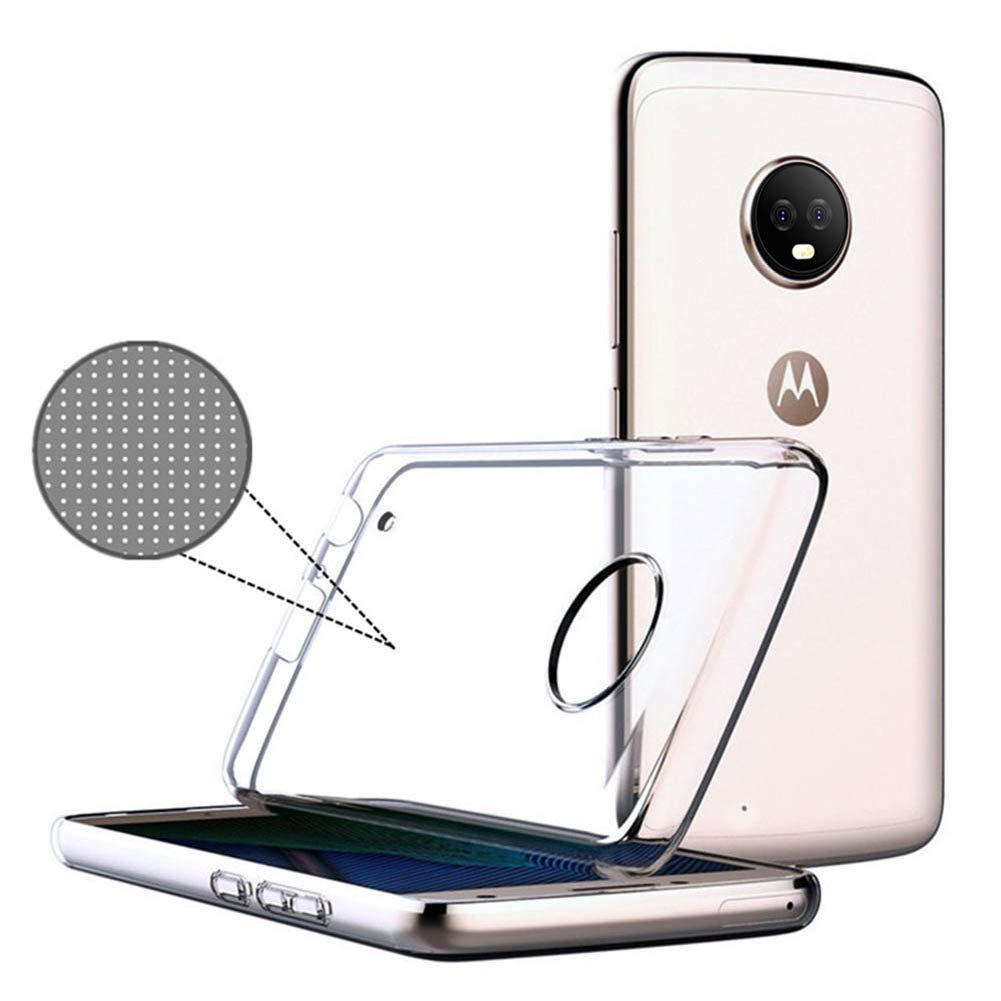 For Motorola Moto G6/ G6 Plus Case Slim Clear Transparent Nature Soft TPU Silicon Cover Cell Mobile Phone Protective Bag Shell(China)