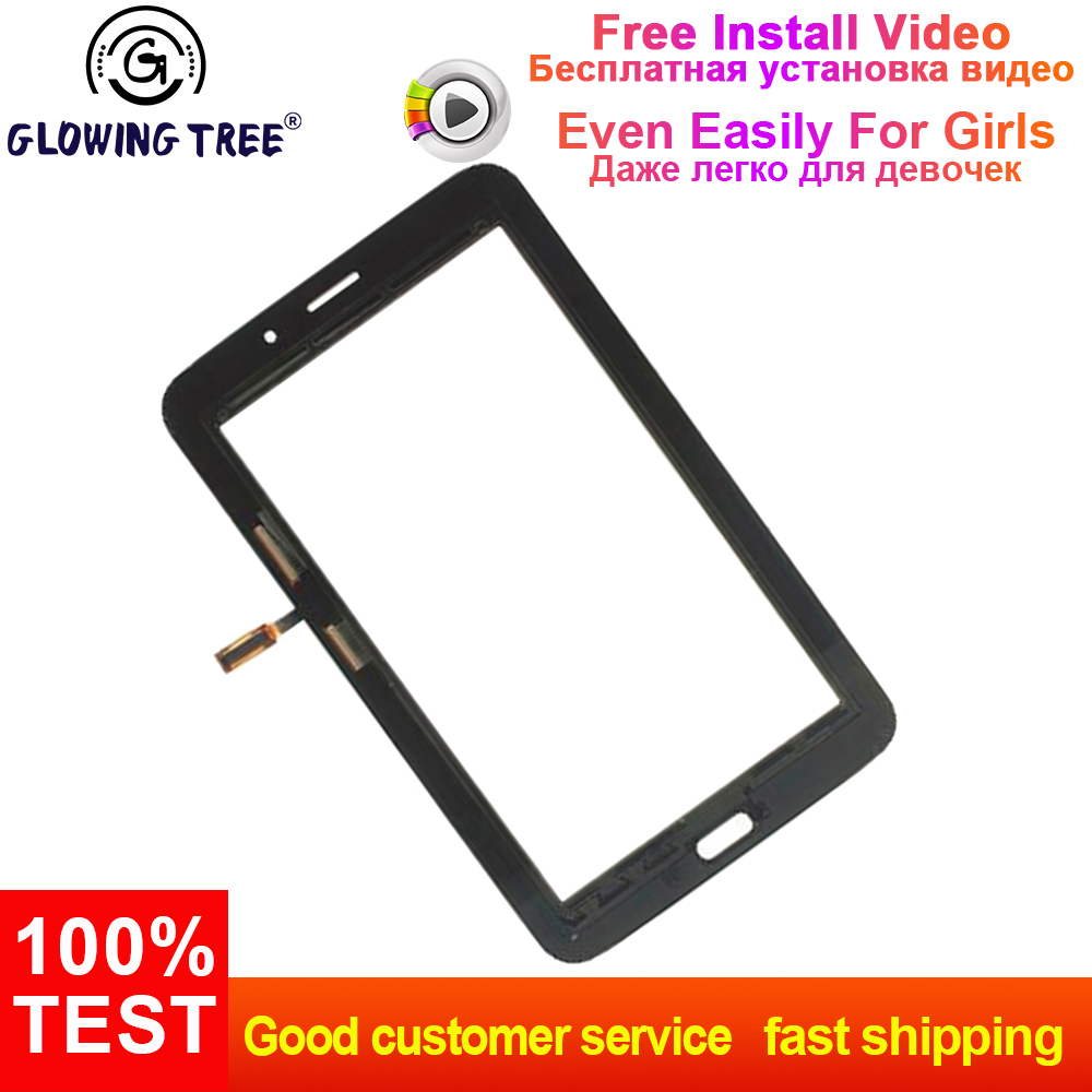 Black For Samsung Galaxy Tab 3 Lite 7 0 T111 SM-T111 Digitizer Touch Screen  Panel Sensor Glass Replacement