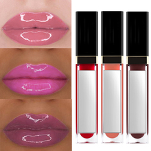 Private label lip glass lip gloss sticky high gloss not matte 40-color oily glossy lip gloss Mirror with gold-plated pearlescent 33031713253 фото