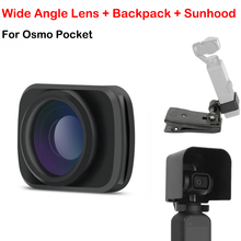 Mini Portable Wide angle Camera Lens For DJI OSMO Pocket Handheld Gimbal Wide Angel filter Lens OSMO Pocket  Accessories