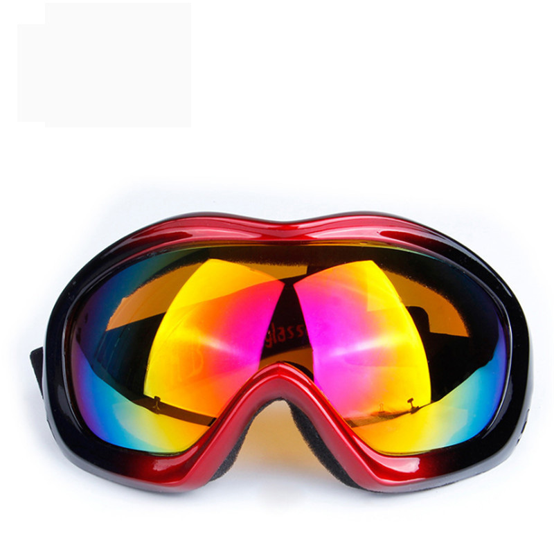 Ski Snowboard Eyewear Color Lens Anti-UV Goggles Prevent Wind Snowmobile Dirt Bike Glasses Motocross Eyewear