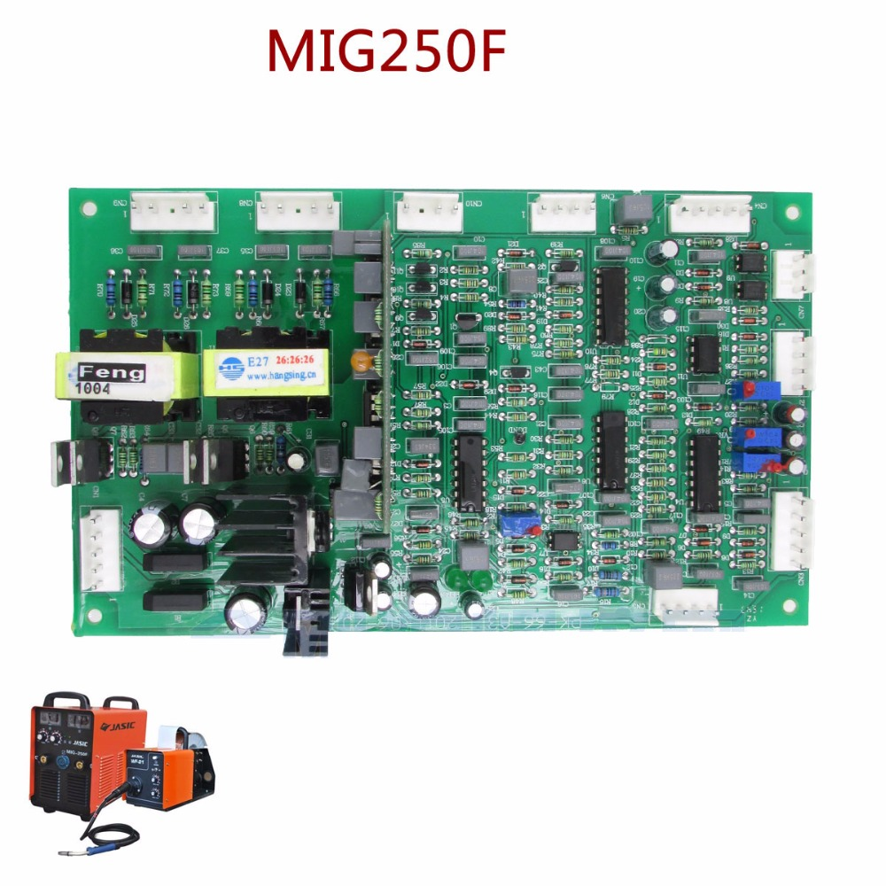 MIG250F control circuit board for jasic gas shielded welding machine