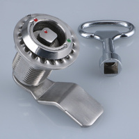 1PCS MS816 stainless steel rotor lock cabinet cam lock for distribution box JF1707