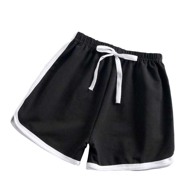 Kids active pants 1-9T children pure cotton sport shorts baby boys girls casual hot ptans for running trousers baby summer pants