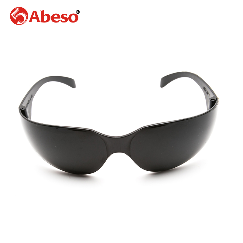 ABESO Industrial goggles for electric welding glare sunglasses with black lenses safety goggles A7908