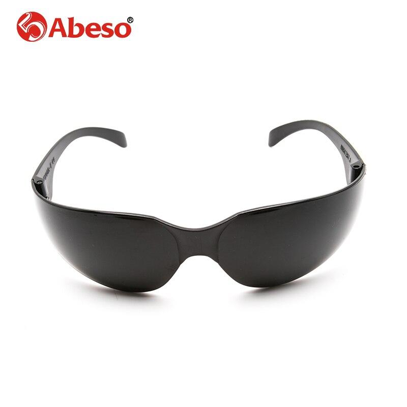 ABESO Industrielle lunettes pour électrique de soudage éblouissement lunettes de soleil avec lentilles noires lunettes de sécurité A7908