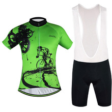 2016 New Arrival Cycling Jersey Clothing Bike Team Anti-sweat Clothing Men Short Bicycle Quick Dry Jersey&short Free Shipping