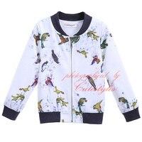 Pettigirl Boys Jacket Autumn Coat for Little Boy New Arrival Animal Pattern Print Boy Clothing OC90321-15L