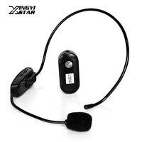 Mini Headworn Wireless Microphone Headset Mic Megaphone For Computer Teaching Karaoke System Speech Speaker Magic Sing Lectures