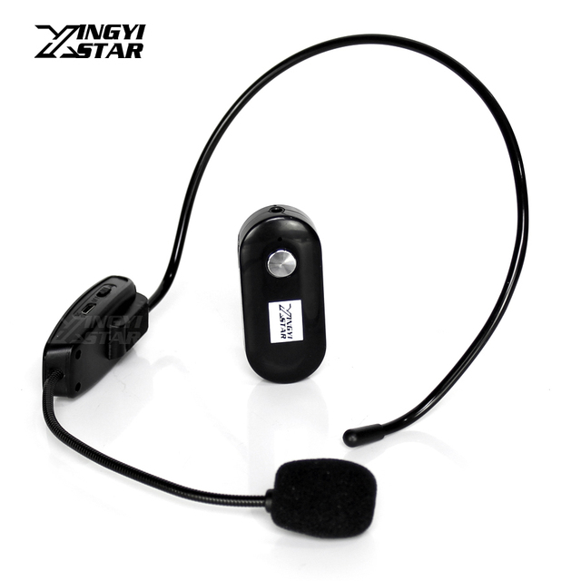 Mini Casque Sans Fil Microphone Casque Micro Mégaphone Pour L
