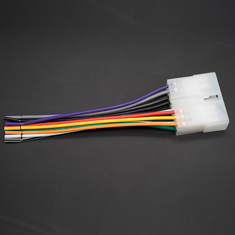 for isuzu car auto stereo cd player radio wire harness adapter connector  cable radio wiring connector plug line fm wire-in cables, adapters &  sockets from