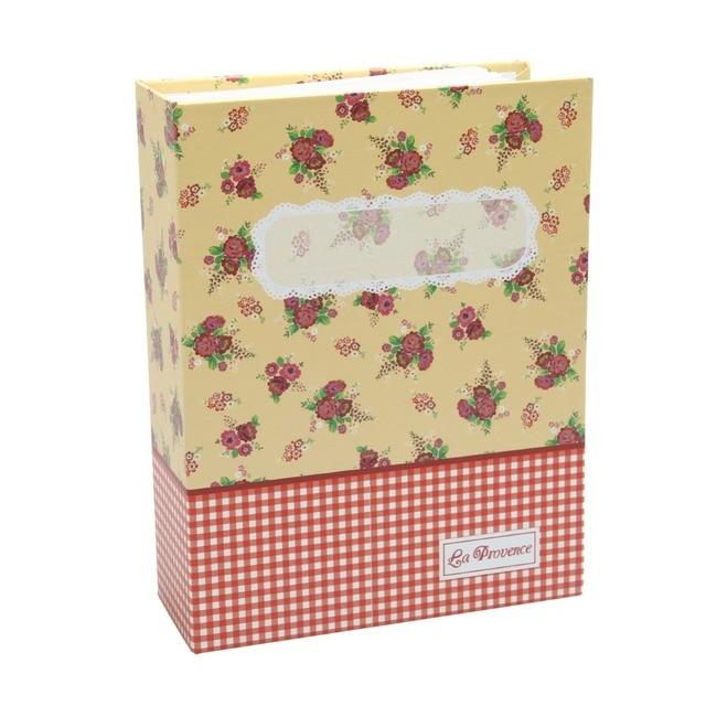 Nova 6 polegada 100 armazenamento de memória álbum de bolso mini filme salvar caso comemorativa do scrapbook álbum de fotos do casamento da foto da flor presente
