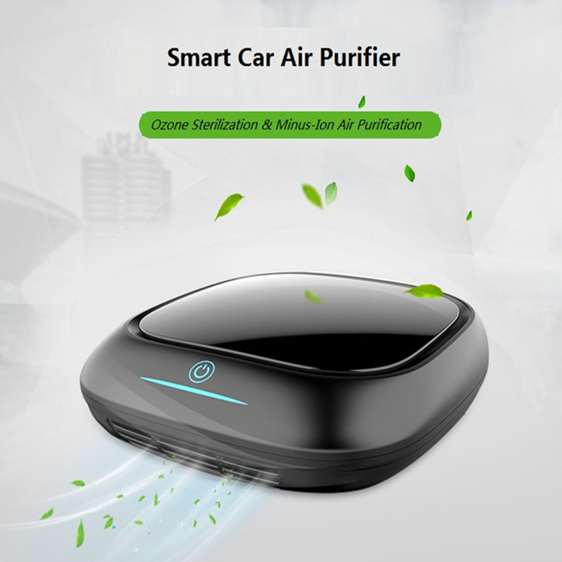 купить Free shipping  Activated Carbon  car air freshener /car air purifier   with HEPA filter  from OHMEKA дешево