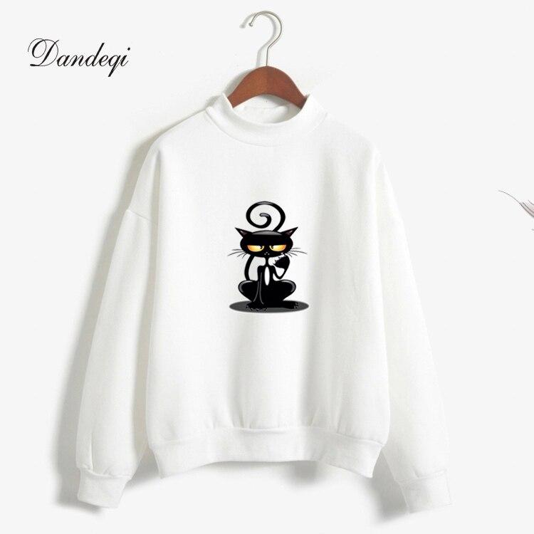 Új Harajuku pulóver nyomtatott alkalmi pulóver Candy színek - Női ruházat
