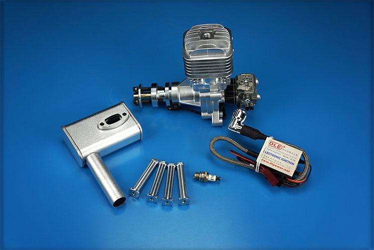 DLE30 30cc GAS Motor für RC Flugzeugmodell Einzelhub zwei Auspuff - Spielzeug für die Fernbedienung - Foto 2