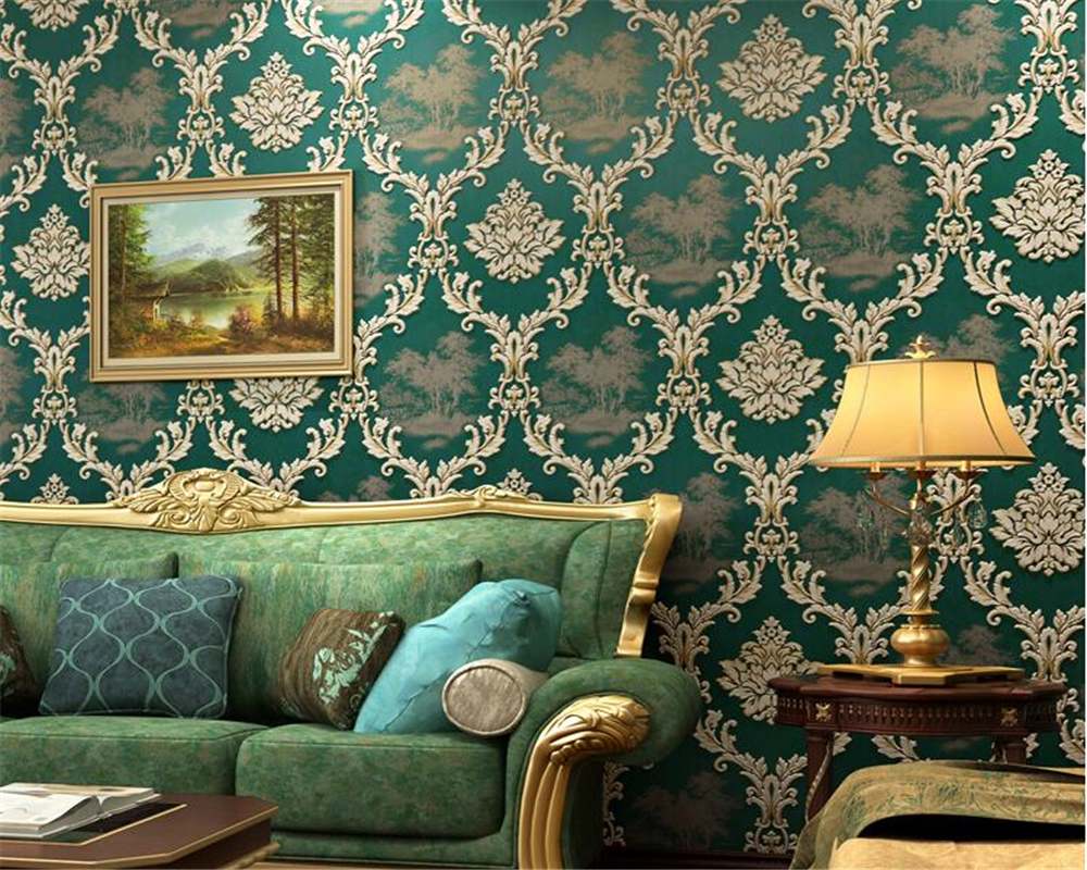beibehang European style retro fashion classic wallpaper personalized bedroom living room TV background wallpaper for walls 3 d free shipping personalized fashion figure puzzle 3d wallpaper salon bedroom wallpaper background bar ktv mural