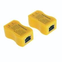 Detektor PoE Tester PoE wyświetlacz LED wskazuje pasywny/1/802 af/at; 24v/48v/56v, szybko identyfikuje zasilanie przez Ethernet