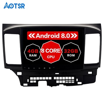 Android 8.0 Car GPS Player for Mitsubishi Lancer 2007-2015 with 4G+32G Octa Core Auto Stereo Navi Radio Multimedia 8core px5 cpu image
