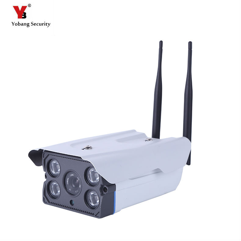 цена Yobang Security 720P HD Outdoor Waterproof WiFi Bullet IP Security Surveillance CCTV Camera Wireless Onvif WIFI IR night vision