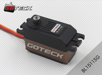 Goteck 10kg cm 12kg cm Torque brushless motor BL1511S for RC Car mode/Fixed wing aircraft/Helicopter