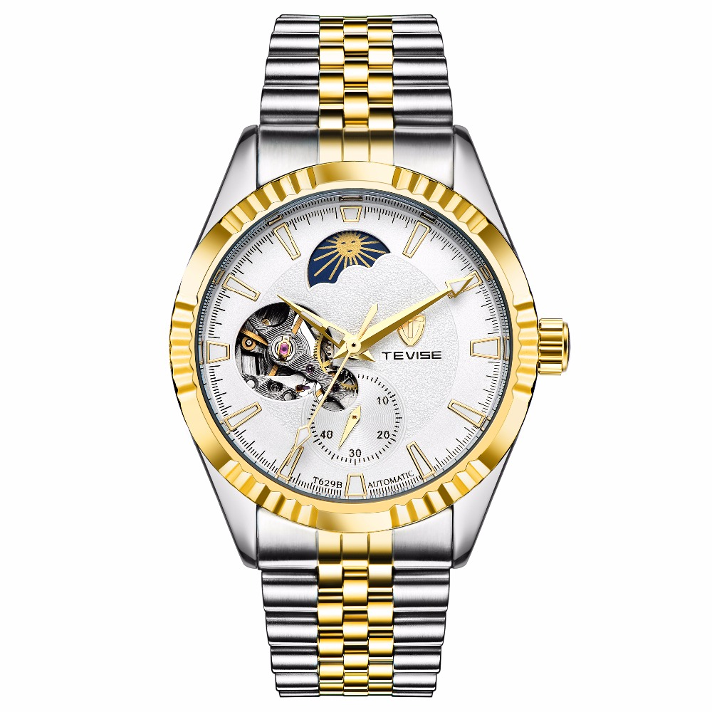 TEVISE Mens Watches Top Brand Luxury Automatic Mechanical Watch Men Waterproof Sport Watches цена и фото