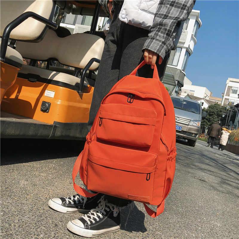 DCIMOR nowy wodoodporny nylonowy plecak dla kobiet kilka kieszeni plecaki podróżne plecak szkolny damski dla nastoletnich dziewcząt Book Mochilas