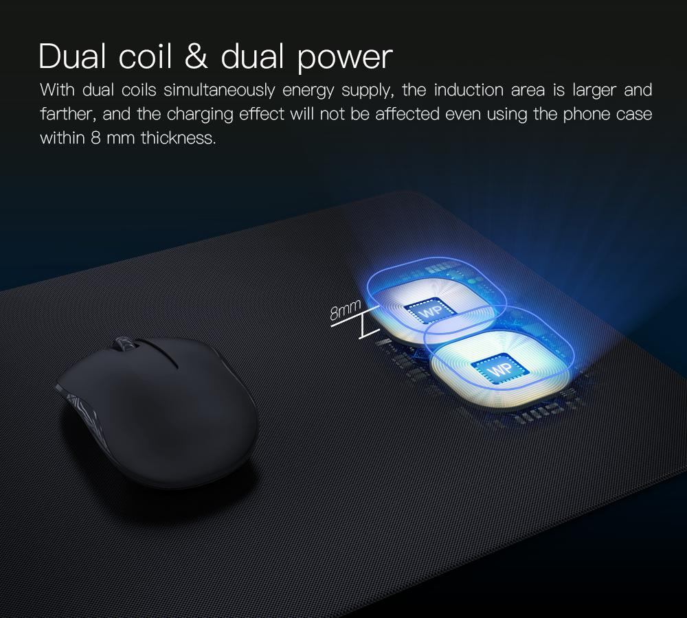 JAKCOM MC2 Wireless Mouse Pad Charger Hot sale in Chargers as desulfator turnigy chargeur pile