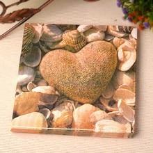 20 штук пищевой любовь камень тема салфетки свадебные салфетки Бумага ткани для партии украшения