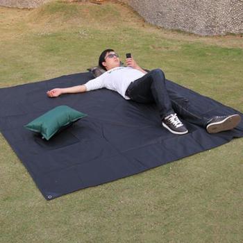 โปรโมชั่นที่ละเอียดอ่อน Tarp Airbed Outdoor Picnic Camping Mat Camping Tarpaulin Bay Play Mat Plaid Blanket