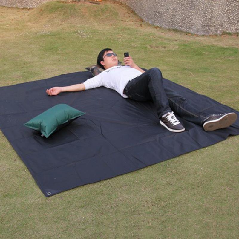Delicato Promozione Tarp Airbed Esterna Impermeabile di Picnic di Campeggio Spiaggia Stuoia di Campeggio Baia Play Mat Plaid Blanket Telone