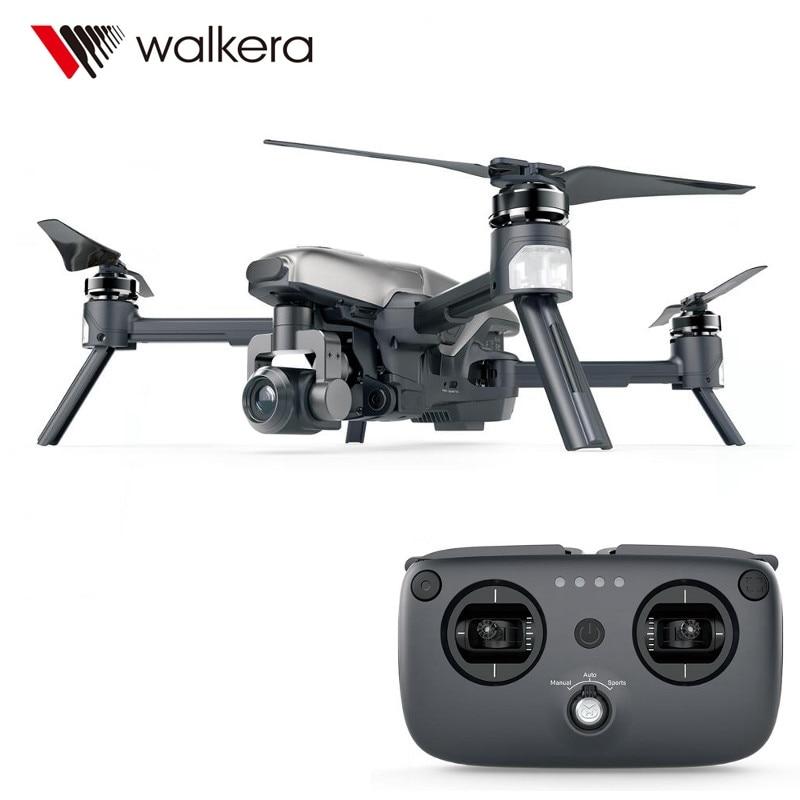 Новинка 2017 года Оригинал Walkera Вита 320 5.8 Г Wi-Fi RC Quadcopter с 3 оси 4 К Камера Gimbal препятствий AR игры гонки ...