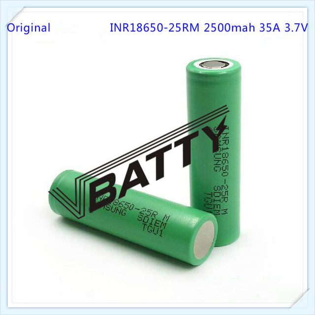 High Amp Battery >> Wholesale Vapor Batteries For Samsung 25rm 18650 Battery High Amp